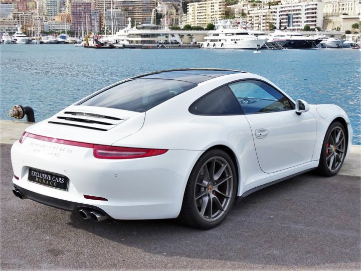 Porsche 911 TYPE 991 CARRERA 4S PDK POWERKIT 430 CV - MONACO Blanc  - 3
