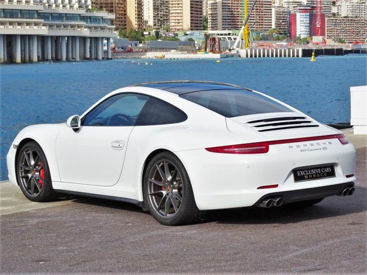 Porsche 911 TYPE 991 CARRERA 4S PDK POWERKIT 430 CV - MONACO Blanc  - 4