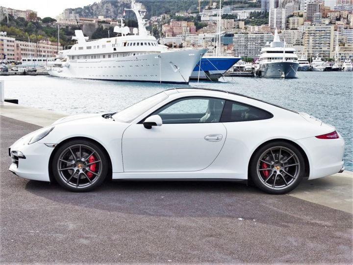 Porsche 911 TYPE 991 CARRERA 4S PDK POWERKIT 430 CV - MONACO Blanc  - 5