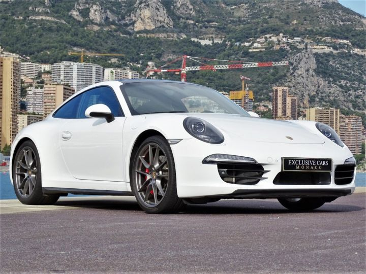 Porsche 911 TYPE 991 CARRERA 4S PDK POWERKIT 430 CV - MONACO Blanc  - 13