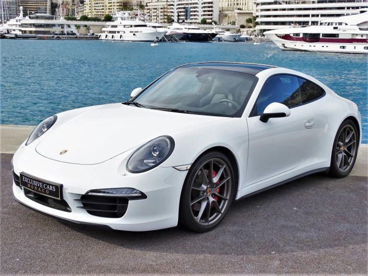 Porsche 911 TYPE 991 CARRERA 4S PDK POWERKIT EXCLUSIF PORSCHE 430 CV - MONACO Blanc - 1