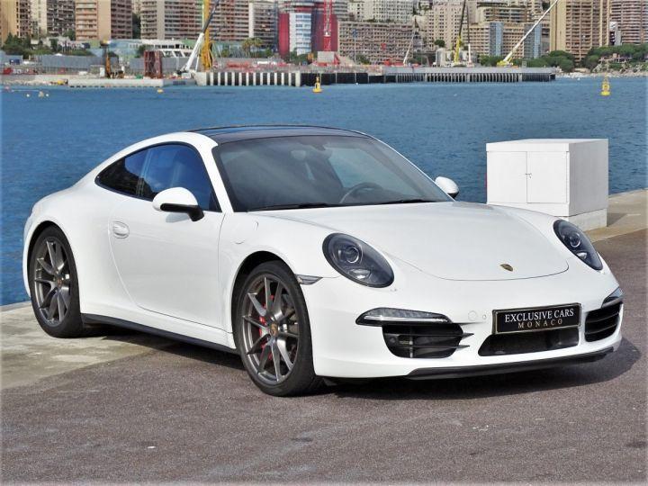Porsche 911 TYPE 991 CARRERA 4S PDK POWERKIT EXCLUSIF PORSCHE 430 CV - MONACO Blanc - 2