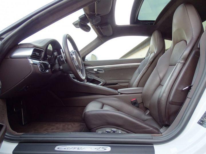 Porsche 911 TYPE 991 CARRERA 4S PDK POWERKIT EXCLUSIF PORSCHE 430 CV - MONACO Blanc - 7