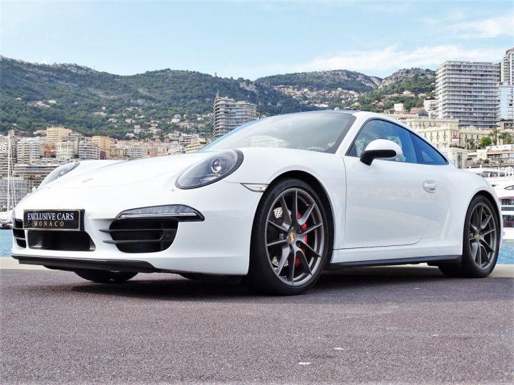 Porsche 911 TYPE 991 CARRERA 4S PDK POWERKIT EXCLUSIF PORSCHE 430 CV - MONACO Blanc - 12