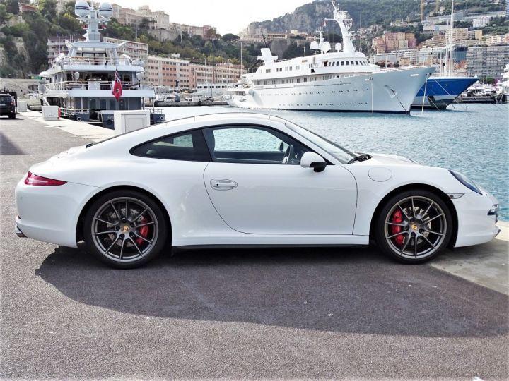 Porsche 911 TYPE 991 CARRERA 4S PDK POWERKIT EXCLUSIF PORSCHE 430 CV - MONACO Blanc - 15