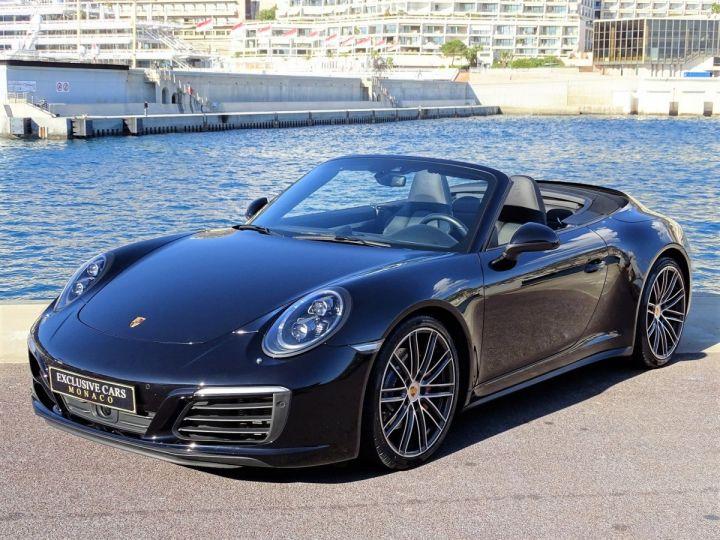 Porsche 911 TYPE 991 CARRERA CABRIOLET 4S PDK 420 CV - MONACO Noir Métal - 1