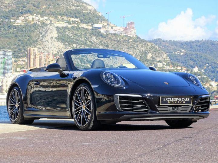 Porsche 911 TYPE 991 CARRERA CABRIOLET 4S PDK 420 CV - MONACO Noir Métal - 3