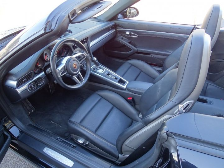 Porsche 911 TYPE 991 CARRERA CABRIOLET 4S PDK 420 CV - MONACO Noir Métal - 7
