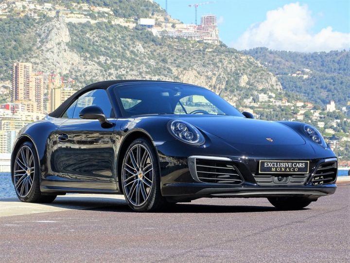 Porsche 911 TYPE 991 CARRERA CABRIOLET 4S PDK 420 CV - MONACO Noir Métal - 14