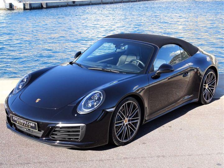 Porsche 911 TYPE 991 CARRERA CABRIOLET 4S PDK 420 CV - MONACO Noir Métal - 15