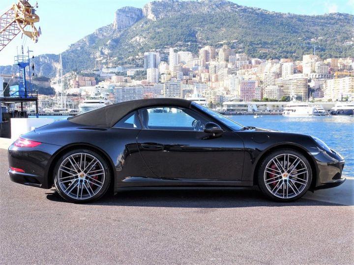 Porsche 911 TYPE 991 CARRERA CABRIOLET 4S PDK 420 CV - MONACO Noir Métal - 18