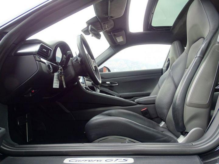 Porsche 911 TYPE 991 CARRERA GTS 450 CV PDK - MONACO Noir Métal - 8