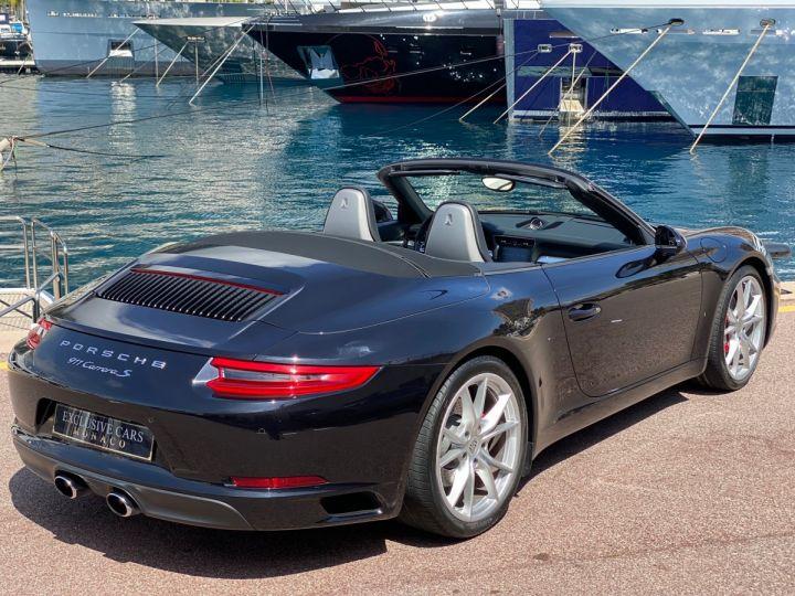Porsche 911 TYPE 991 CARRERA S CABRIOLET 420 CV PDK - MONACO Noir   - 3