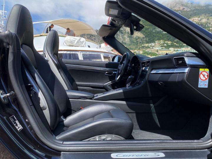 Porsche 911 TYPE 991 CARRERA S CABRIOLET 420 CV PDK - MONACO Noir   - 20