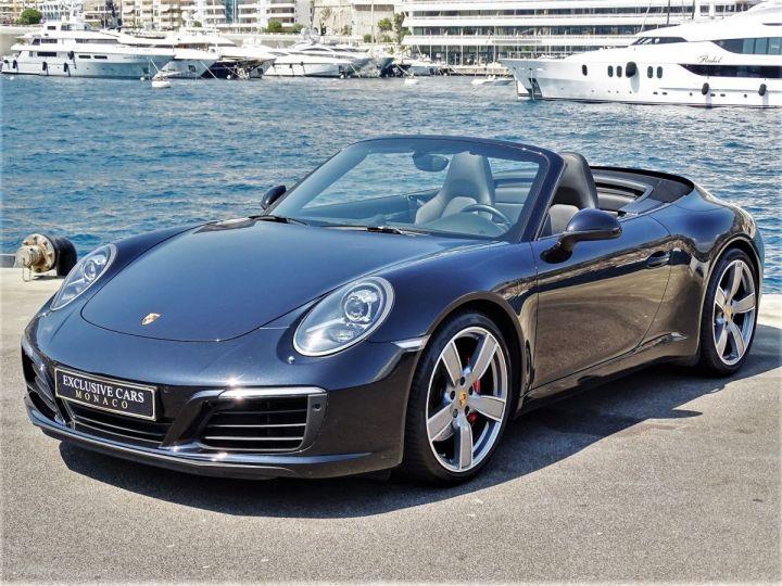Porsche 911 TYPE 991 CARRERA S CABRIOLET PDK 420 CV - MONACO Noir Métal - 1
