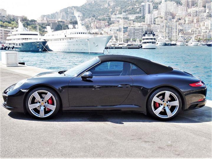 Porsche 911 TYPE 991 CARRERA S CABRIOLET PDK 420 CV - MONACO Noir Métal - 14