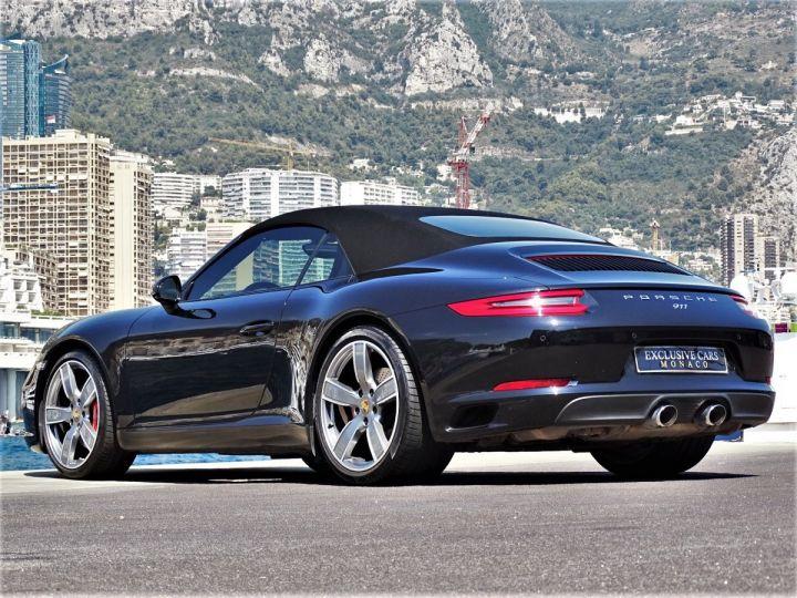 Porsche 911 TYPE 991 CARRERA S CABRIOLET PDK 420 CV - MONACO Noir Métal - 18