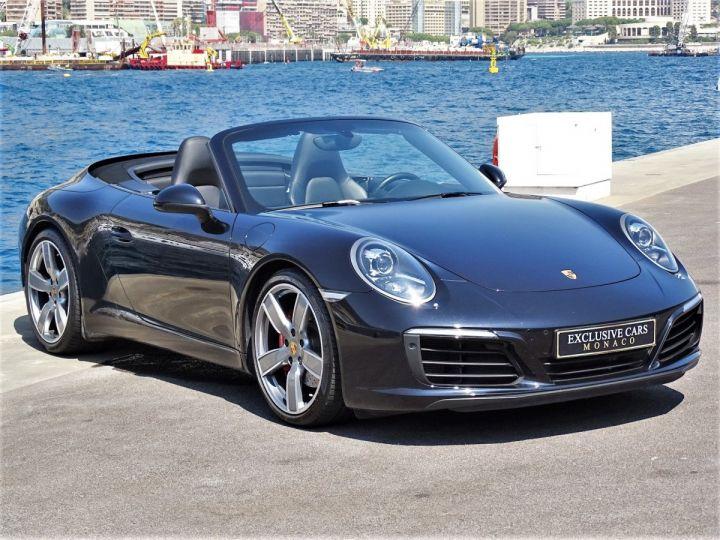 Porsche 911 TYPE 991 CARRERA S CABRIOLET PDK 420 CV - MONACO Noir Métal - 2