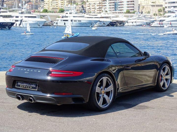 Porsche 911 TYPE 991 CARRERA S CABRIOLET PDK 420 CV - MONACO Noir Métal - 4