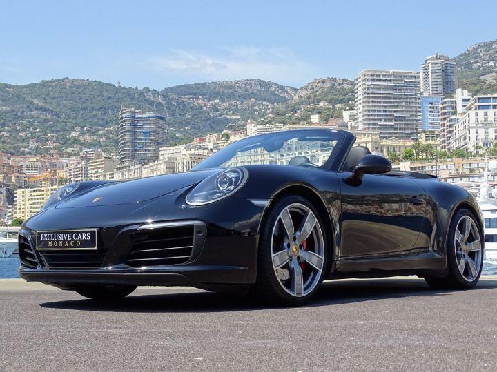 Porsche 911 TYPE 991 CARRERA S CABRIOLET PDK 420 CV - MONACO Noir Métal - 11