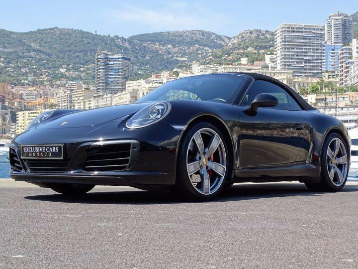 Porsche 911 TYPE 991 CARRERA S CABRIOLET PDK 420 CV - MONACO Noir Métal - 15