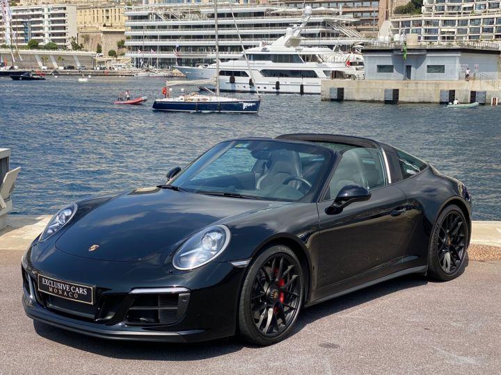 Porsche 911 TYPE 991 TARGA 4 GTS PDK 450 CV - MONACO Noir   - 1