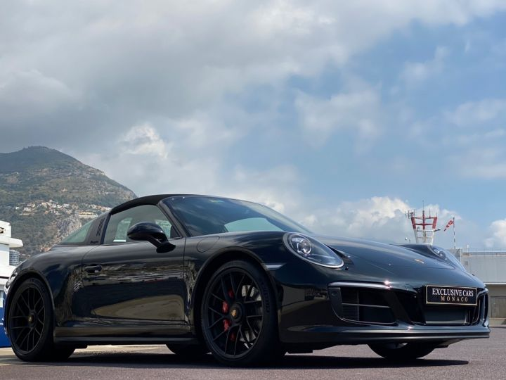 Porsche 911 TYPE 991 TARGA 4 GTS PDK 450 CV - MONACO Noir   - 12
