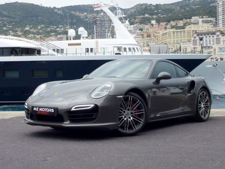 Porsche 911 TYPE 991 TURBO COUPE 3.8 520 CV PDK Gris Quartz Métal Occasion - 1