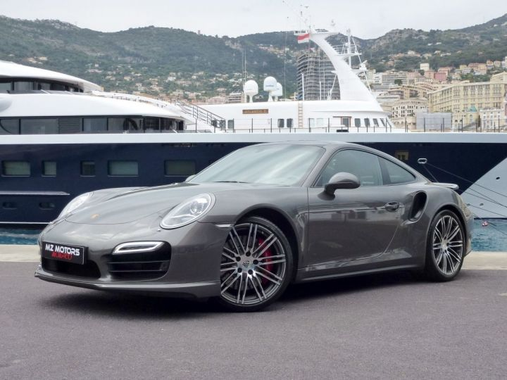 Porsche 911 TYPE 991 TURBO COUPE 3.8 520 CV PDK Gris Quartz Métal Occasion - 3