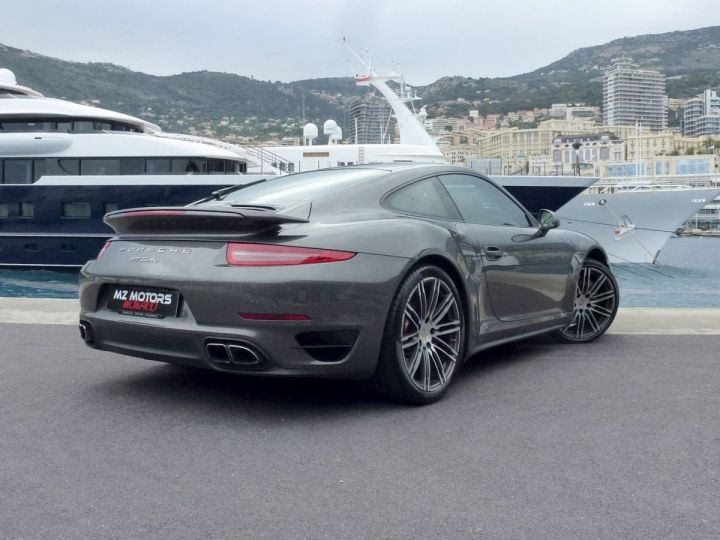 Porsche 911 TYPE 991 TURBO COUPE 3.8 520 CV PDK Gris Quartz Métal Occasion - 8