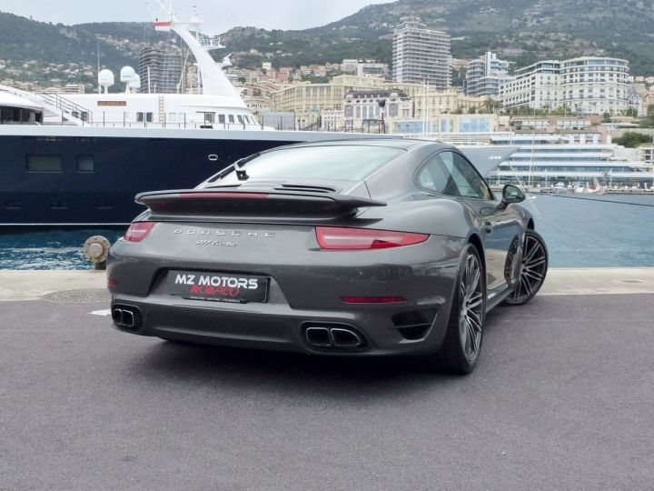 Porsche 911 TYPE 991 TURBO COUPE 3.8 520 CV PDK Gris Quartz Métal Occasion - 9