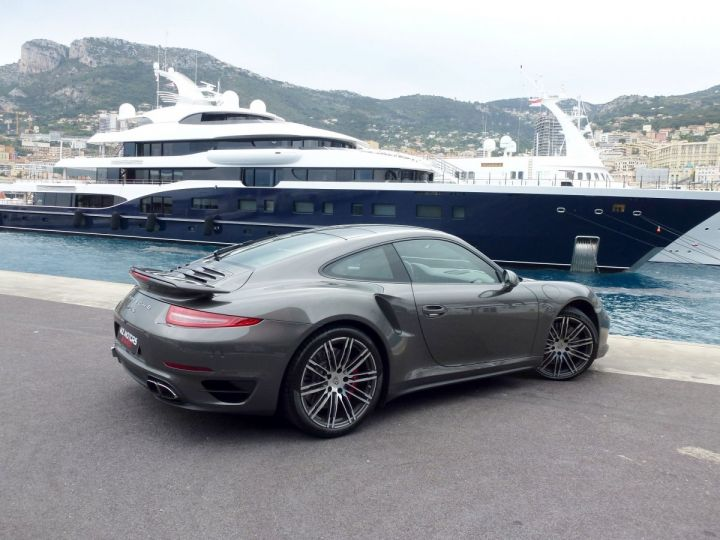 Porsche 911 TYPE 991 TURBO COUPE 3.8 520 CV PDK Gris Quartz Métal Occasion - 10