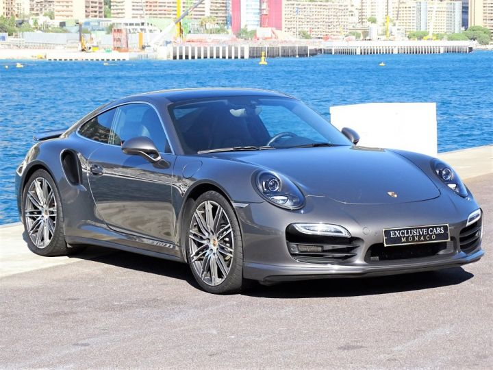 Porsche 911 TYPE 991 TURBO PDK 520 CV - MONACO Gris Métal  - 2