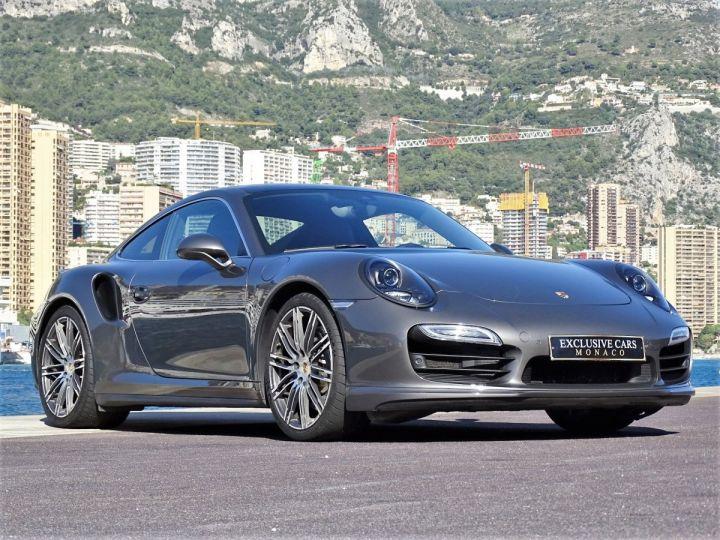 Porsche 911 TYPE 991 TURBO PDK 520 CV - MONACO Gris Métal  - 13