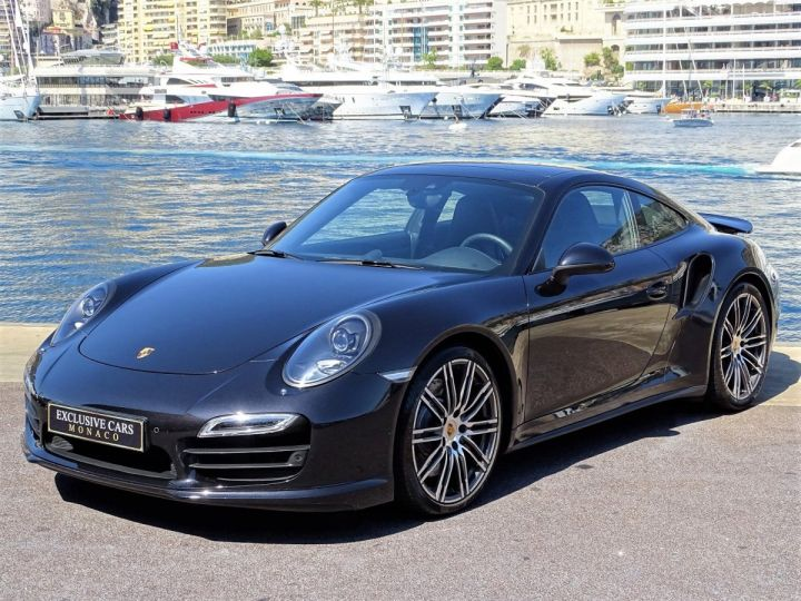Porsche 911 TYPE 991 TURBO PDK 520 CV - MONACO Noir  - 1