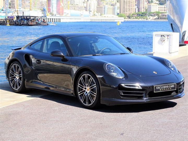 Porsche 911 TYPE 991 TURBO PDK 520 CV - MONACO Noir  - 3