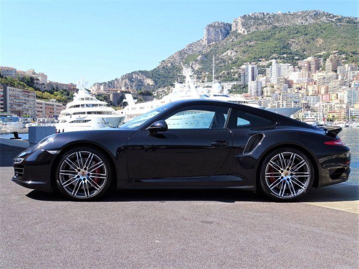 Porsche 911 TYPE 991 TURBO PDK 520 CV - MONACO Noir  - 4