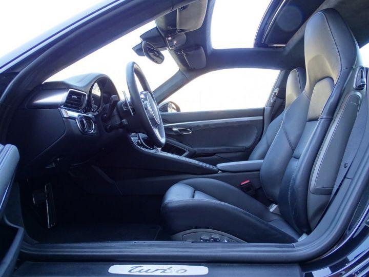 Porsche 911 TYPE 991 TURBO PDK 520 CV - MONACO Noir  - 8