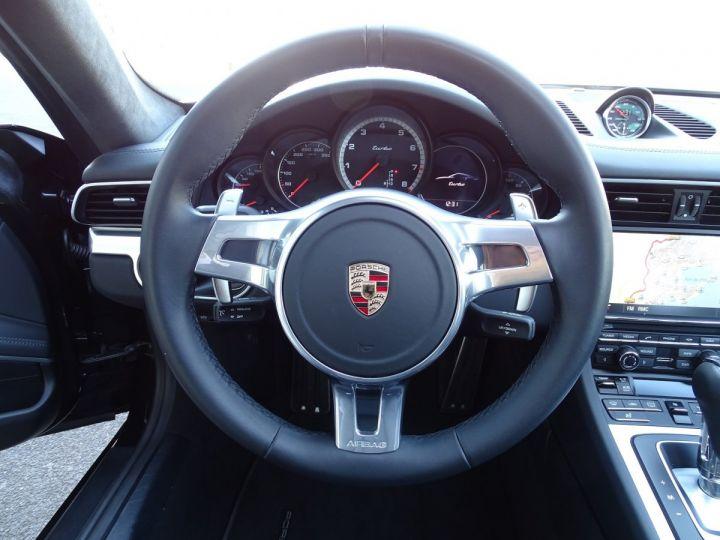 Porsche 911 TYPE 991 TURBO PDK 520 CV - MONACO Noir  - 14