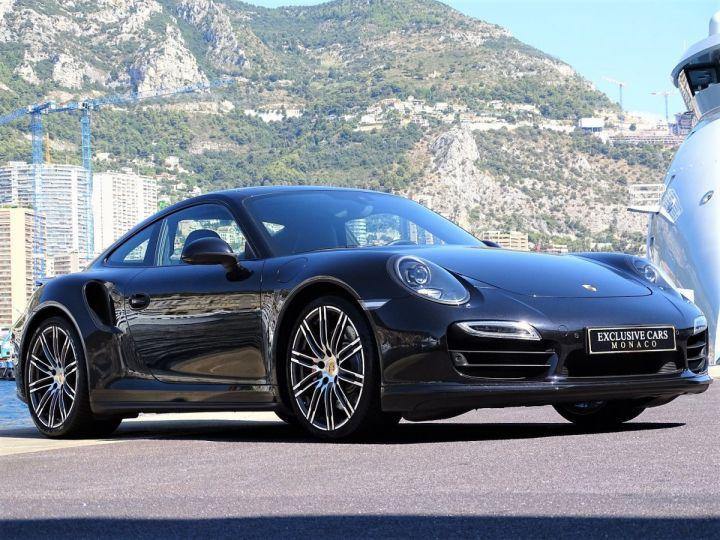 Porsche 911 TYPE 991 TURBO PDK 520 CV - MONACO Noir  - 17