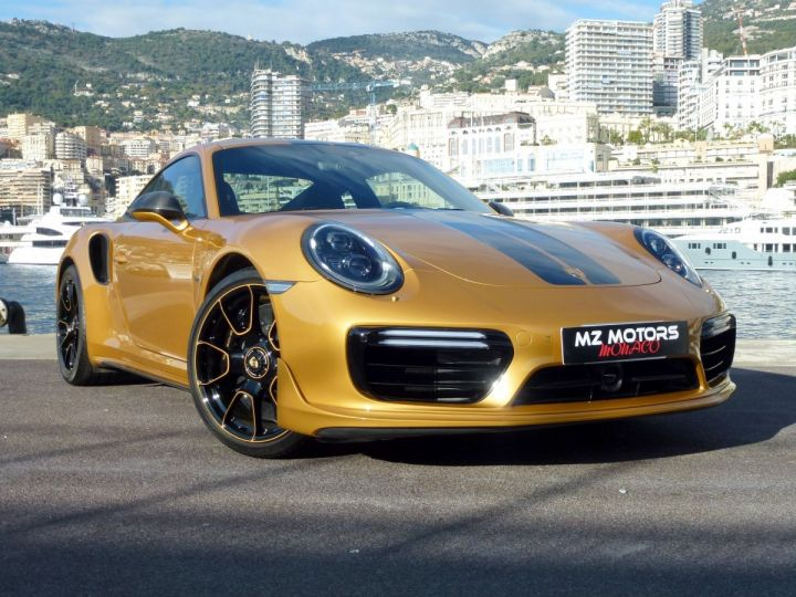 Porsche 911 TYPE 991 TURBO S EXCLUSIVE SERIES Or Jaune métallisé Occasion - 5