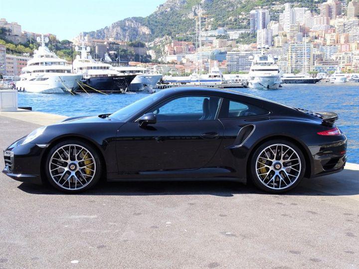 Porsche 911 TYPE 991 TURBO S PDK 560 CV - MONACO Noir Métal - 3