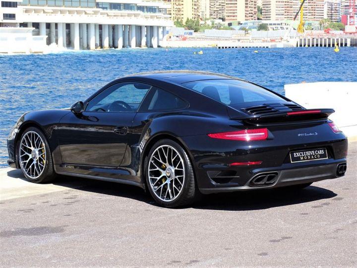 Porsche 911 TYPE 991 TURBO S PDK 560 CV - MONACO Noir Métal - 5