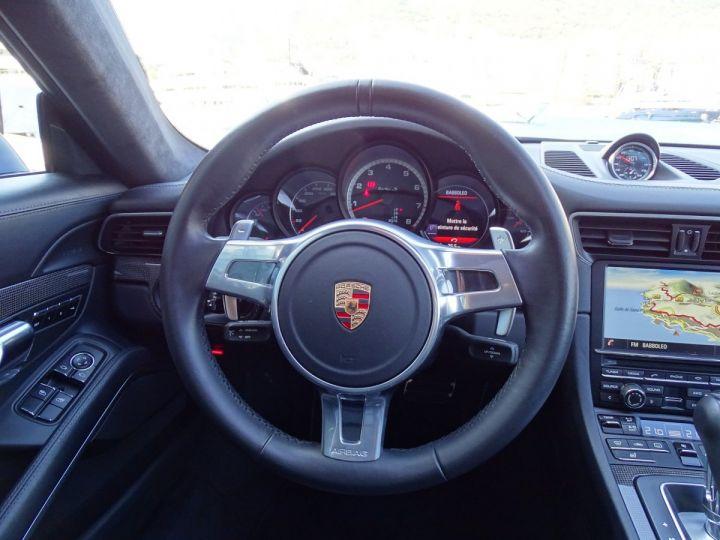 Porsche 911 TYPE 991 TURBO S PDK 560 CV - MONACO Noir Métal - 10