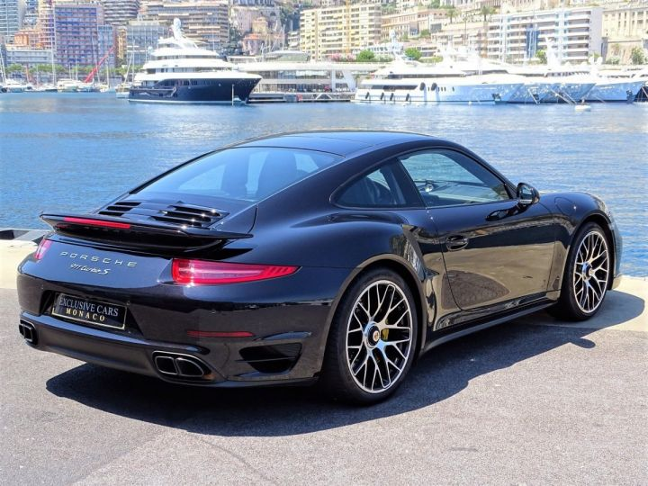 Porsche 911 TYPE 991 TURBO S PDK 560 CV - MONACO NOIR INTENSE METAL - 3