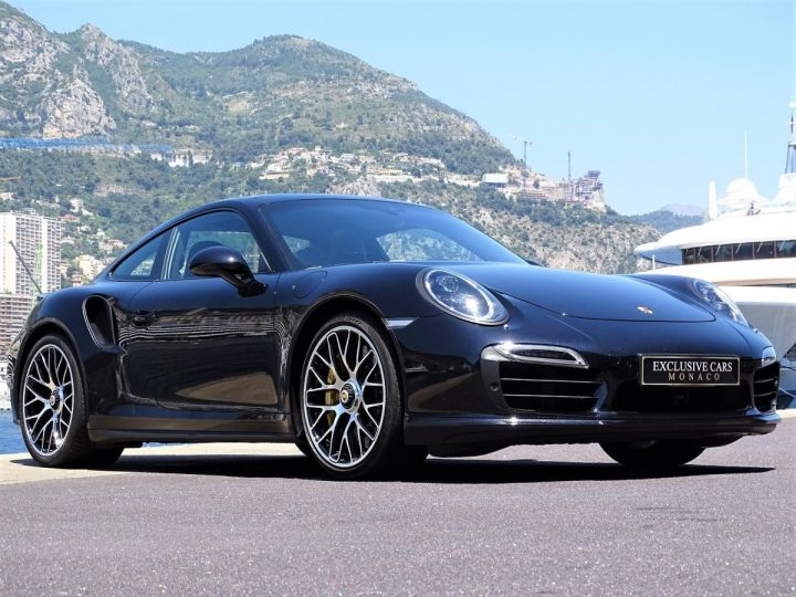 Porsche 911 TYPE 991 TURBO S PDK 560 CV - MONACO NOIR INTENSE METAL - 16