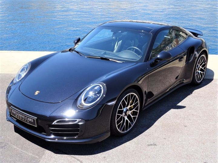 Porsche 911 TYPE 991 TURBO S PDK 560 CV - MONACO NOIR INTENSE METAL - 19