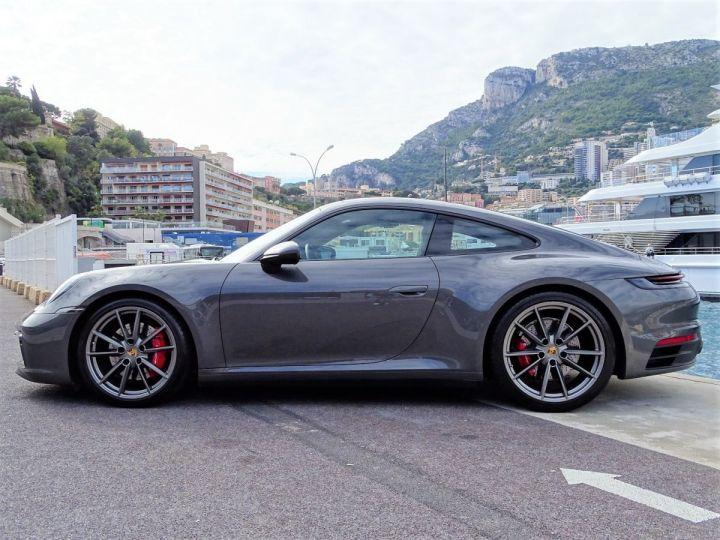 Porsche 911 TYPE 992 CARRERA 4S 450 CV PDK - MONACO Gris Agate métal - 4