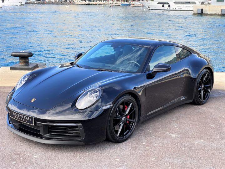 Porsche 911 TYPE 992 CARRERA 4S 450 CV PDK - MONACO Noir Metal - 1