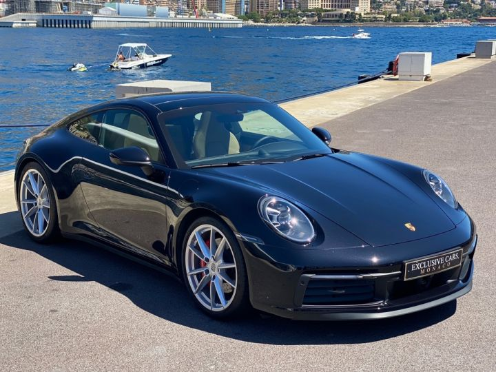 Porsche 911 TYPE 992 CARRERA 4S 450 CV PDK - MONACO Noir Métal - 2